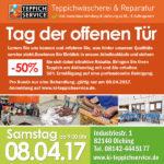 Tag der offenen Tür München Teppichservice (Teppichwäscherei)