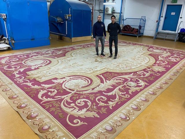 Teppichreinigung - große Teppiche