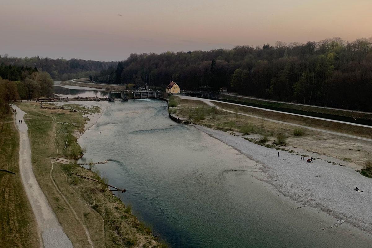 Pullach direkt an der Isar München